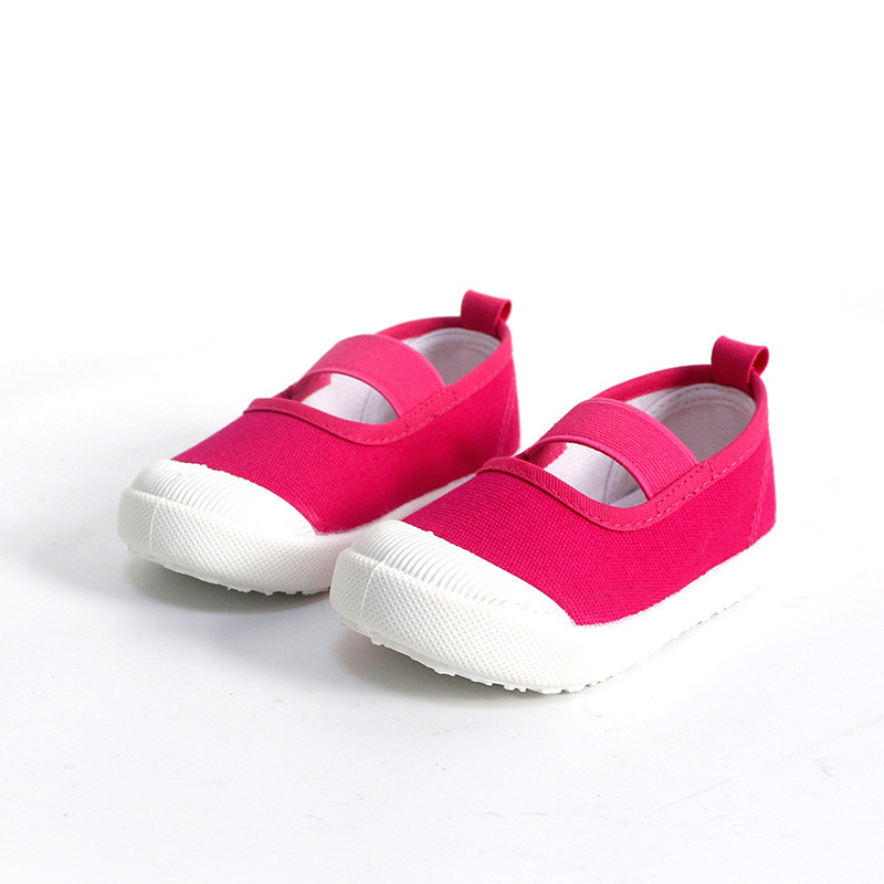 17 children's spring kids baby girls Candy colors floral princess shoes canvas sneakers Toddler infantil shoes for girls 4