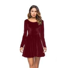 92789d1f1fa15 Popular Velvet Mini Skater Dress-Buy Cheap Velvet Mini Skater Dress ...