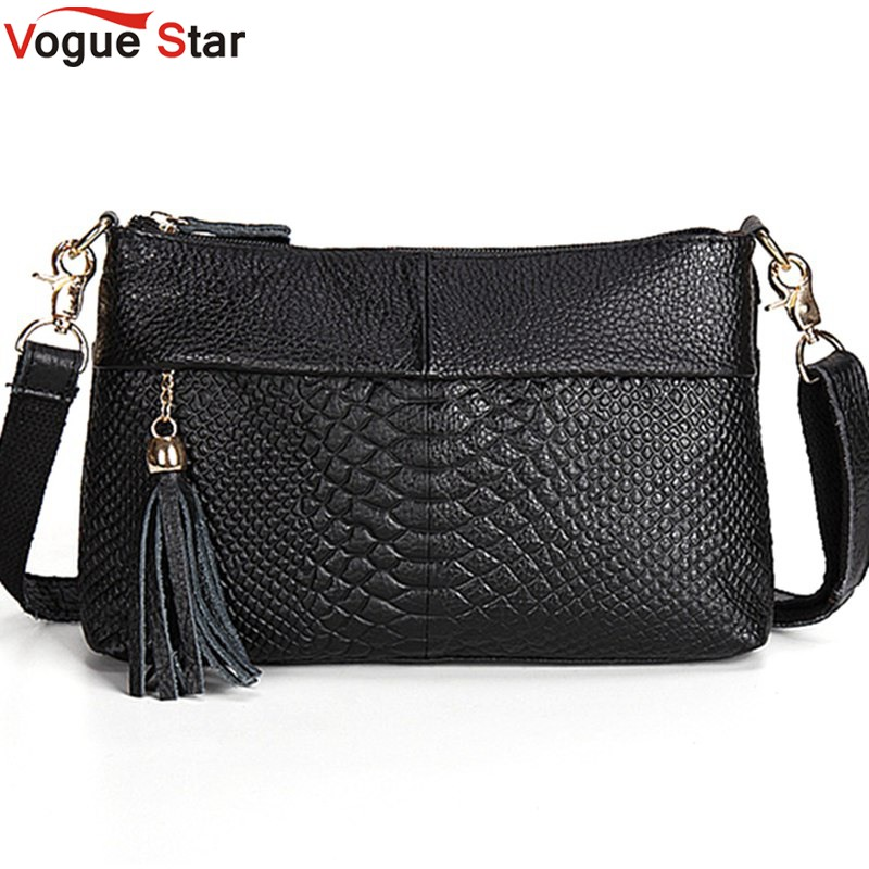 100% Genuine Leather Bags Women Messenger Bags Famous Brands Fashion Ladies Shoulder Crossbody Bag Feminine Tassel Clutch LA463 monf genuine leather bag famous brands women messenger bags tassel handbags designer high quality zipper shoulder crossbody bag