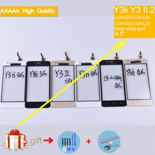 For Huawei Y3ii Y3 II 2 LUA-U23 LUA-L03 LUA-U22 LUA-L23 Touch Screen Panel Sensor Digitizer Front Glass Touchscreen NO LCD