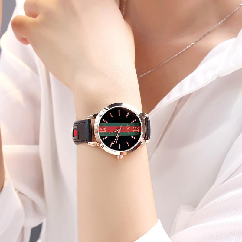 New 2018 Top Brand Elegant Women's Watches Fashion Casual Ladies Wrist Watch Luxury Female Clock For Women Reloj Mujer top new fashion brand women lady luxury clock female stylish casual business elegant steel wrist quartz bracelet watch re024
