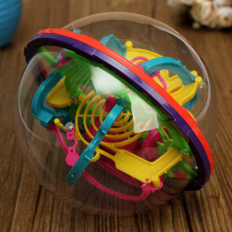 Fun 3D Magic Maze Ball perplexus magical intellect ball educational toys Marble Puzzle Game perplexus balls IQ Balance toy armour series rotating bracket case for moto z play gold