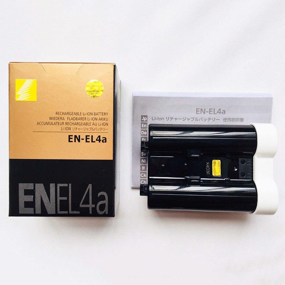 2PCS/Lot EN-EL4a ENEL4a EN EL4a Camera Battery For Nikon D2H D2Hs D2X D2Xs D3 D3S F6 MH-21 Cameras