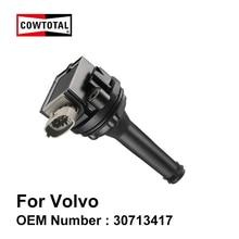 COWTOTAL катушки зажигания для Volvo S40 S60 V70 C70 S80 XC90 OE 30713417 9125601 0221604008 0221604010(комплект из 5