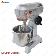 ZB10L stainless steel electric food mixer planetary mixer dough mixer, egg beater machine недорого