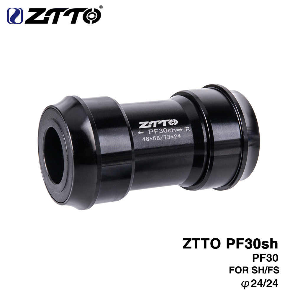 ZTTO PF30sh PF30 24 адаптер велосипеда Пресс Fit нижние тормоза для MTB горный велосипед запчасти для PF30 68/73 мм 46 мм рама оболочка