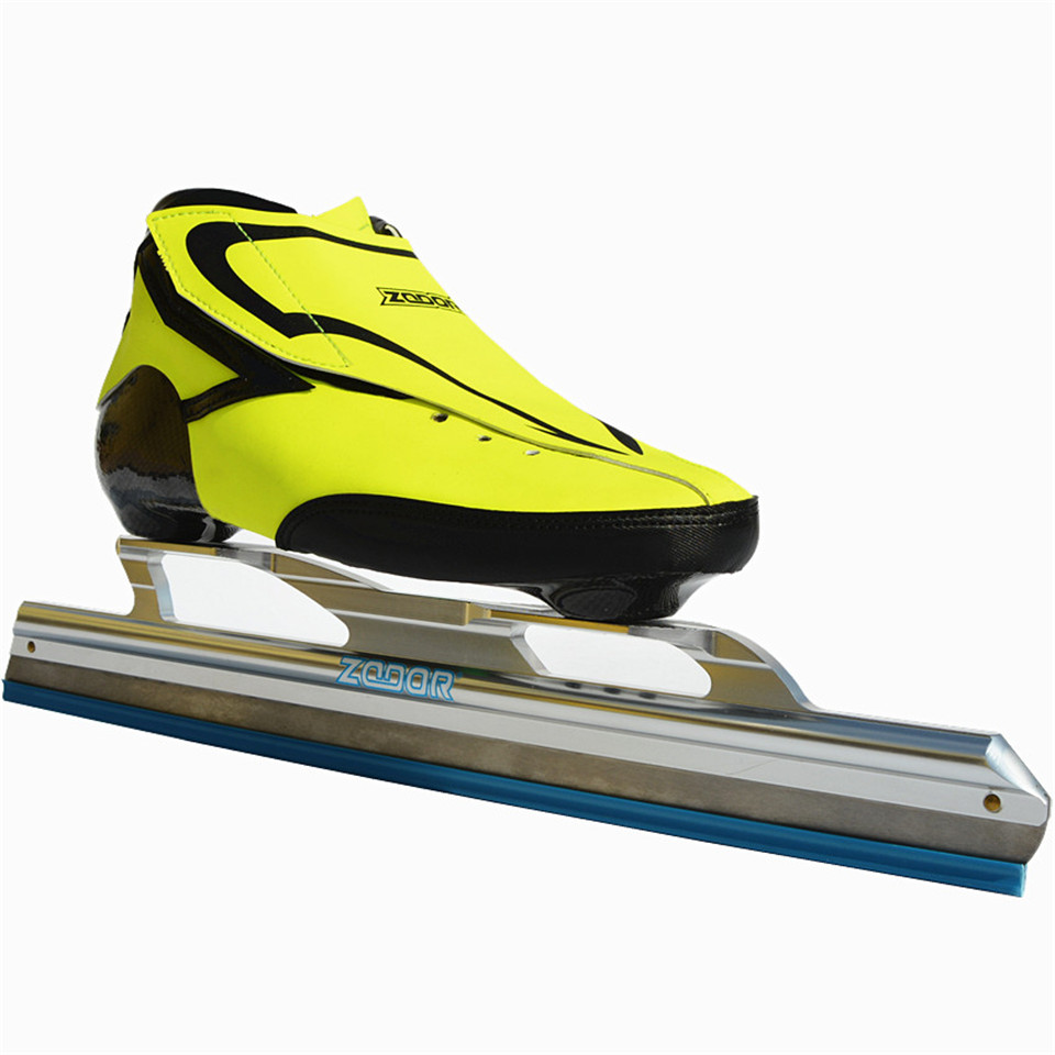Japy 6 Layers Carbon Fiber Speed Ice Blade Skating Shoes Metal Fix Location Knife Racing Skate Comfortable Patines Sneakers J005