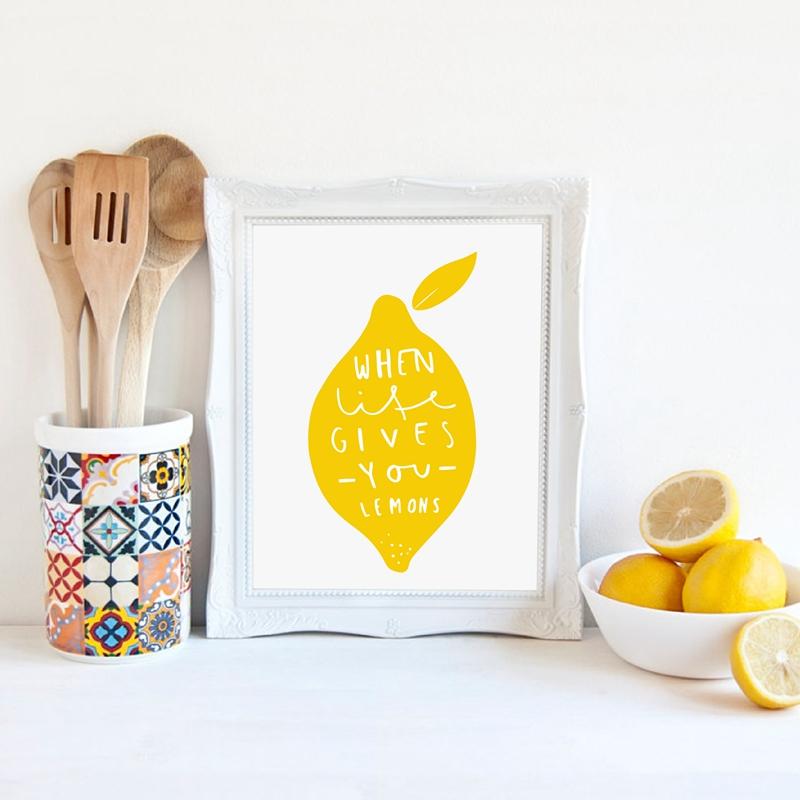 Nice Big Wooden Spoon Wall Decor Picture Collection - Wall Art ...