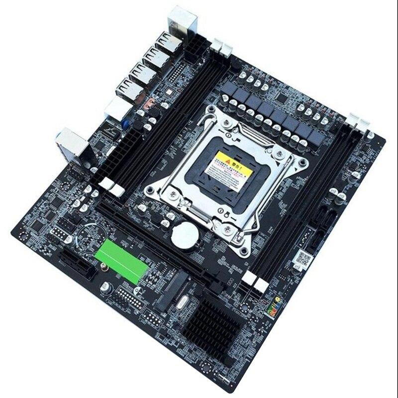 X79 E5 Desktop Computer Mainboard Lga 2011Pin 4 Channels Recc Gaming Motherboard Cpu Platform Support I7 Xeon For Intel H61 P6