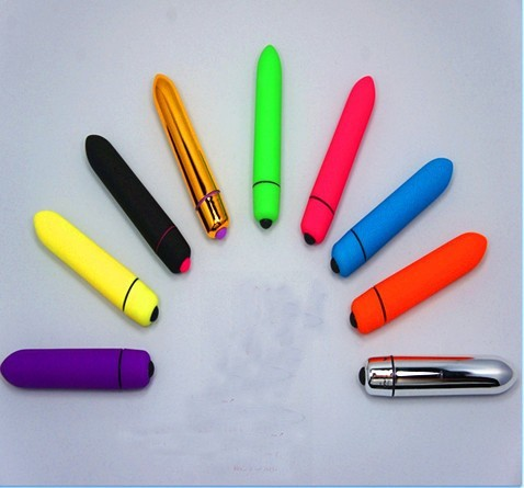 Sexo Juguetes mini vibrador balas vibrantes del larga huevo vibración larga del bala inalámbrica Vibradores Juguetes sexuales colores bolsa de papel por DHL 8280a0