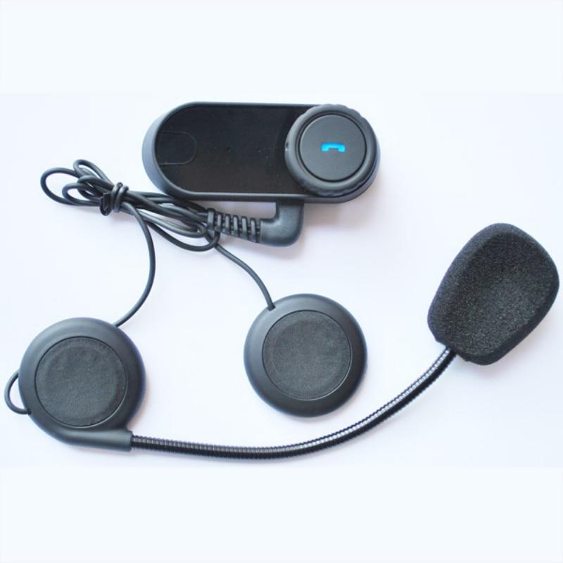 Portable Headset Updated Bluetooth Intercom Helmet Motorcycle Interphone Headset With Lcd Screen