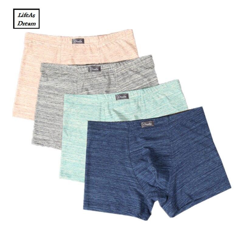 3 pcs/lot Hommes Sous-Vêtements Boxeurs de Coton Vente Chaude Cuecas Ropa Intérieur Hombre Calzoncillos Marcas Plus Taille Troncs 9XL