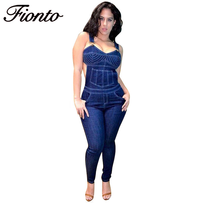 Online Get Cheap Denim Jumpsuit Pants Women -Aliexpress.com ...