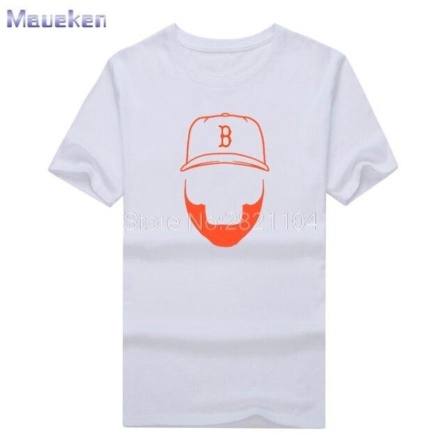 2017 New David Ortiz Big Papi 34 Men s summer T-shirt 100% cotton for red  sox fans T Shirt Short Sleeve 0421-2 36d66dfeb