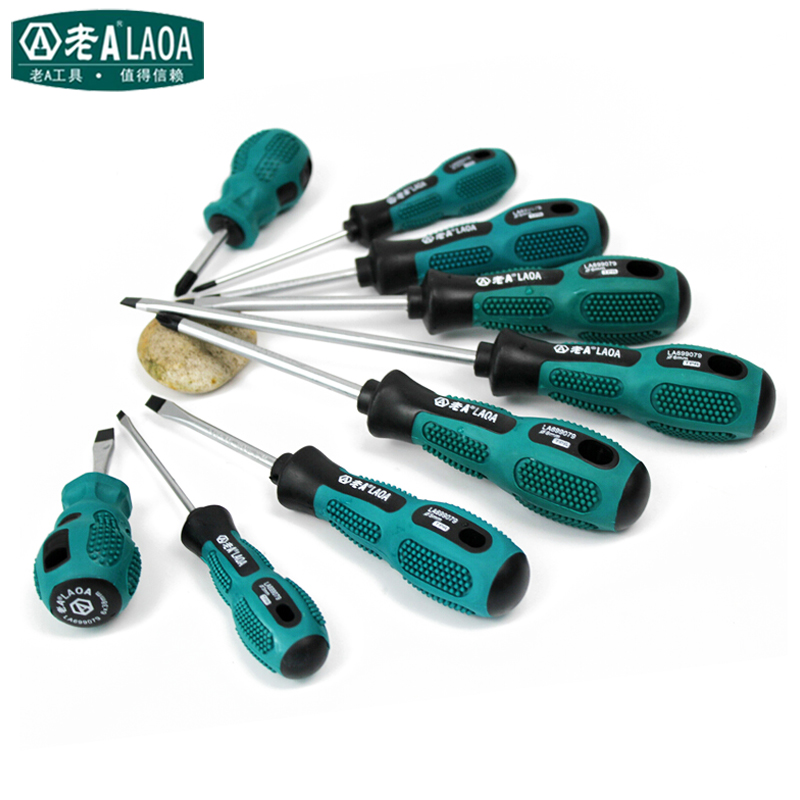 LAOA 6 PCS/9 PCS conjunto Chave De Fenda Transversal e reta Chave De Fenda Magnética para Uso Doméstico Conjuntos de Chave De Fenda ferramentas de Reparo Doméstico