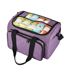 Sewing Supplies Yarn Storage Bag Handbag Yarn Organizer For All Crochet Knitting Accessory Crochet Bag For Yarn Storage