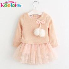 Baby Girl Dress Casual  Long Sleeve