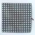 16*16 pixels WS2812B digital led (ws2811 IC controlada) luz do painel flexível, tamanho: 17 cm * 17 cm, a entrada DC5V (pode fazer o tamanho personalizado)