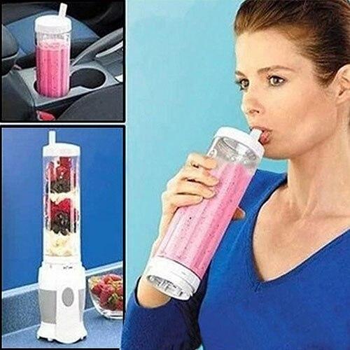 110V/220V EU Juice Machine Mini Electricity Citrus Juicer Pocket Sports Bottle Blender Store 48