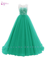 Waulizane Chic Silk Chiffon A Line Bridesmaid Dresses Floor Length Ruched Adult Sleeveless Formal Dress For Special Occasion