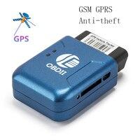 2018 GPS tracker TK206 OBD2 Real Time GSM Quad Band Anti theft Vibration Alarm GSM Mini GPRS vehicle gps Tracker Tracking OBD II