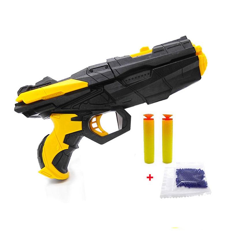 NEW Shooting Water Crystal Gun NF Air Soft Gun Airgun Paintball Gun Pistol & Soft Bullet Gun Plastic Kids Toys