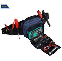 2014 Cheap Waist Canvas Tool Bag W Belt For Electrician Small Tool Equipment Case Organizer Waterproof