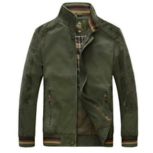 High quality men jacket spring autumn cotton bomber jacket casual brand men's jacket coat veste homme man coat brand clothing