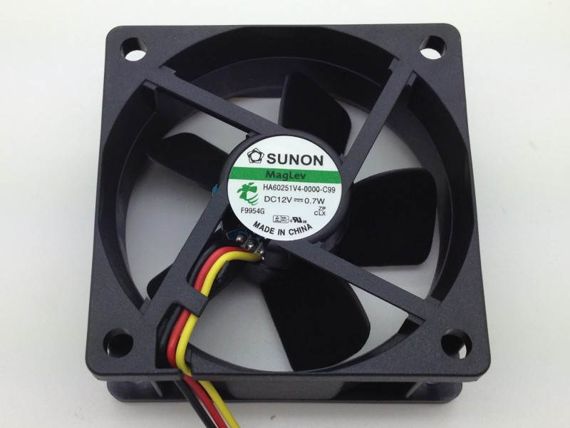 Free Shipping Wholesale Sunon HA60251V4-0000-C99 6CM 6025 60mm DC fan 12V 0.7W Maglev silent fan bosch gsb 18 2 li