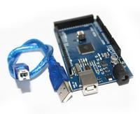 Free Shiping Mega 2560 R3 CH340G Mega2560 REV3 ATmega2560 16AU Board USB Cable Connector