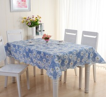 Dandelion pvc Table Cloth Flower Print Multifunctional Rectangle Cover Tablecloth Coffee table cloth Waterproof Oilproof