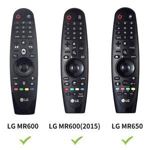 Image 3 - Sikai Ốp Lưng Silicon Cho LG Thông Minh AN MR600 Điều Khiển Từ Xa Dành Cho LG Một MR650 Cho LG OLED TV Magic Remote AN MR18BA 19BA 20GA