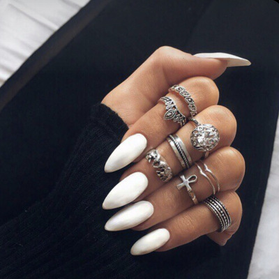 Pin on Acrylic nails coffin