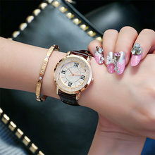 2017 New Fashion Simple Wrist Watch Women Thin Quartz Wristwatch Minimalist Ladies Clock Ball Casual montre