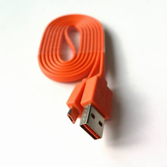Orange USB Power Charger Cable Cord