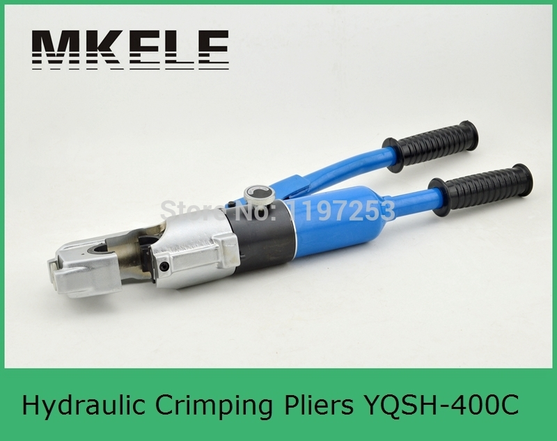 High Quality MK-YQSH-400C Cable Crimper Tool,wire Cutter Crimper,wire Tool Clamp China pz0 5 16 0 5 16mm2 crimping tool bootlace ferrule crimper and 1k 12 awg en4012 bare bootlace wire ferrules