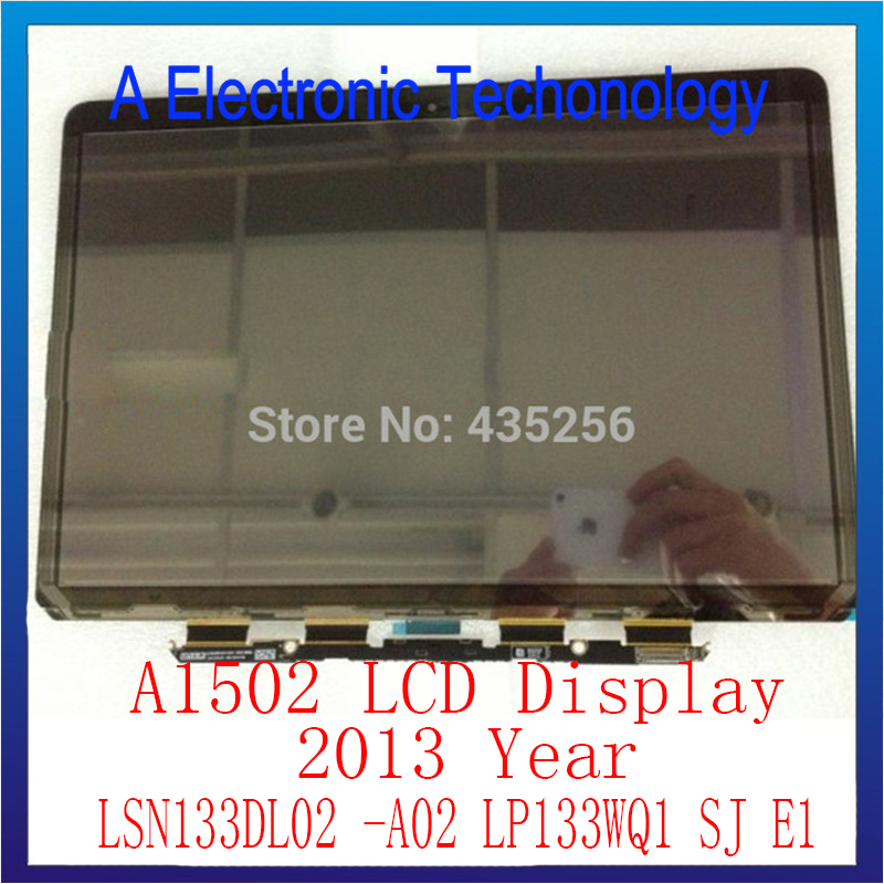 "LCD Display For Apple Macbook Pro Retina 13"" A1502 LCD Display Replacement 2013 LSN133DL02 -A02 LP133WQ1 SJ E1"