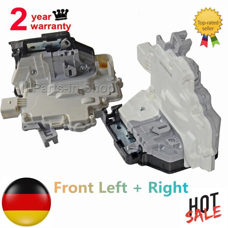 AP01 Front Left Right Door Lock Actuator For Audi A4 Q5 A5 Q3 Q7 TT Volkswagen Touare G 8J2837015A  8J2837016A 2.0 3.0 4.2 2.7