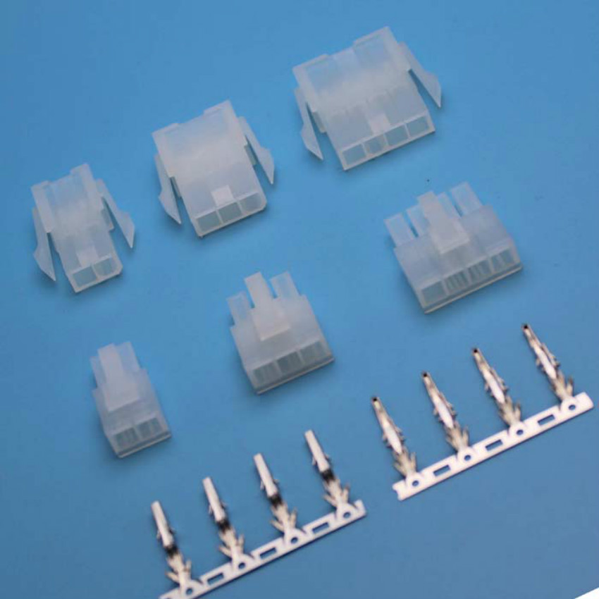<font><b>4.2mm</b></font> Pitch Terminal/Housing/Pin Header Wire Connector Adaptor <font><b>5557</b></font> 5559 2x2/3/4/5/6/7/8/9/10/11/12Pin Kits image