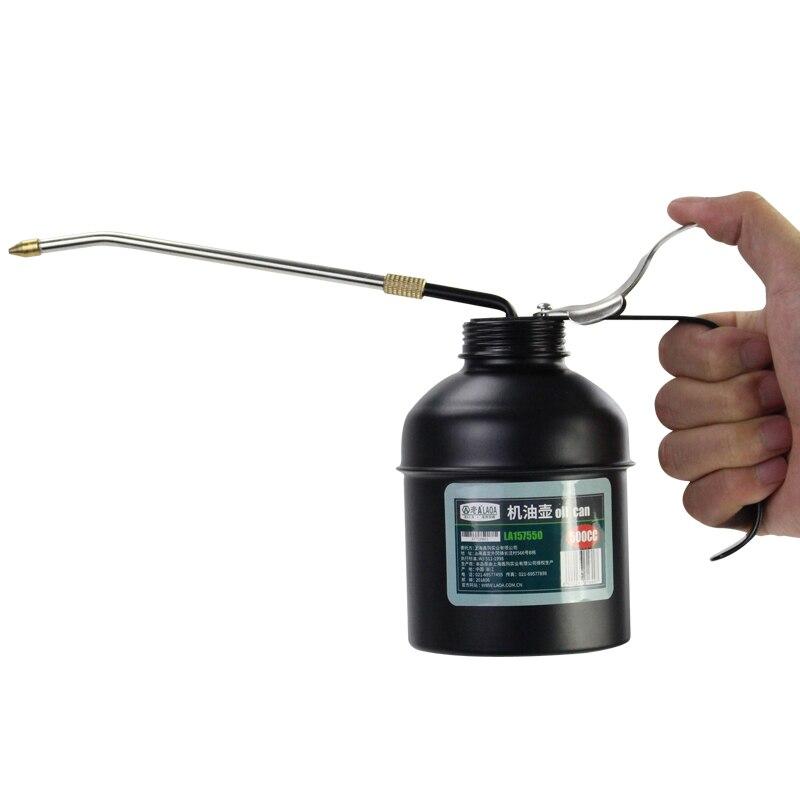 LAOA HVLP Graisseur 180cc/350cc/500cc Machine Graisseur Pompe Haute Pression À Long Bec D'huile Peut Pot Outils À Main pour la Lubrification Aérographe