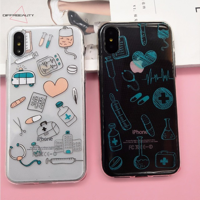 coque iphone 8 plus infirmiere