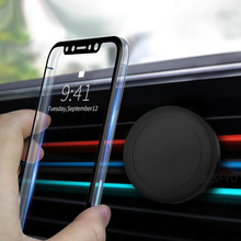 Air Vent Magnetic Car Mount, Easy-Vent Universal Car Mount Air Vent Magnetic Cell Phone Holder for iPhone 7/6S/Plus/Samsung and цена