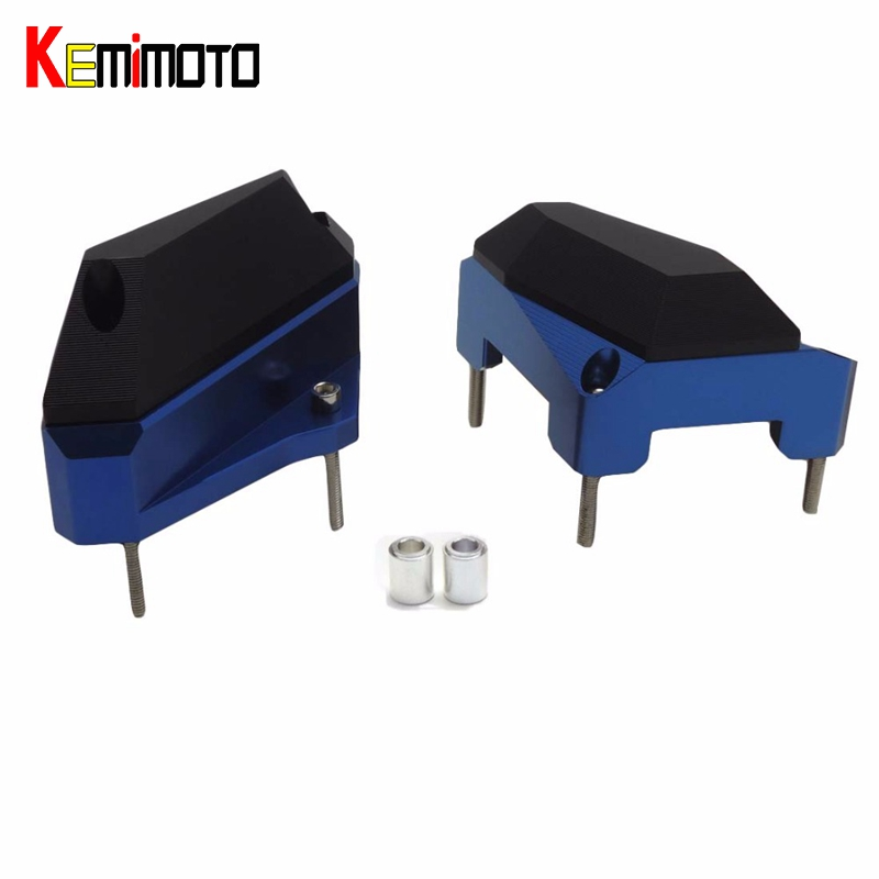 KEMiMOTO R3 R25 MT03 Motorcycle Engine Protector Cover Crash Pads Slider for For Yamaha YZF-R3 YZF-R25 MT-03 2014-2017 waase motorcycle rear back drive chain guard mud cover panel shield fairing cowl protector for yamaha yzf r3 r25 mt 03 mt 25