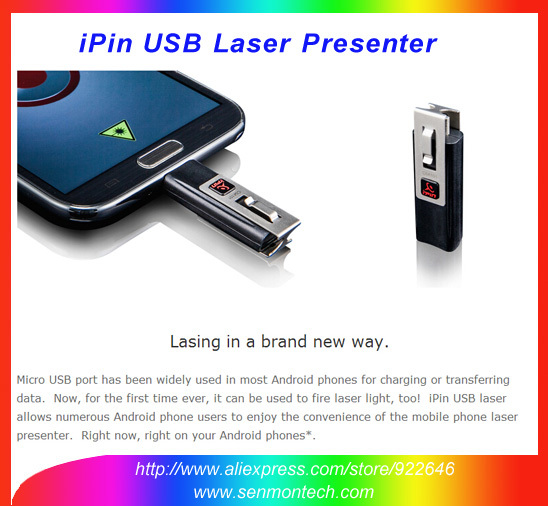 Wifi Bluetooth Receiver BTtogo IPin App A Real Laser Beam 3.5mm Earphone  Jack Stainless IPin