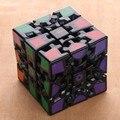 Rueda de engranaje 3*3*3 para aliviar el Estrés Reliver Estrés Puzzle Cube Juguetes Educativos Cubo Mágico Velocidad Cuadrado para niños Niño Niños