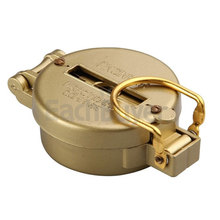 Golden Portable Compass Military Camping Hiking Compass Geological Compass Digital Compass Camping Equipment