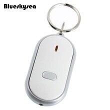 Blueskysea LEVOU Tocha Luz Remoto Controle De Som Perdido Key Finder Localizador Keychain Chaveiro Branco Multi-função rastreador