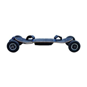 1650W * 2 piezas potente 4 ruedas longboard eléctrico 36V Off Road monopatín eléctrico para adultos A1