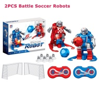 Smart RC Robot Cartoon Play Soccer Robot Remote Control Toys Electric Football Robot Indoor Toys for Children Christmas Gifts
