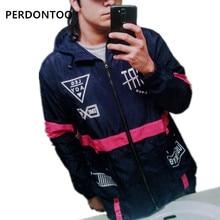 YY Jacket Men Windbreaker Over Size Fashion Male Harajuku Hip Hop Outdooor Coat US